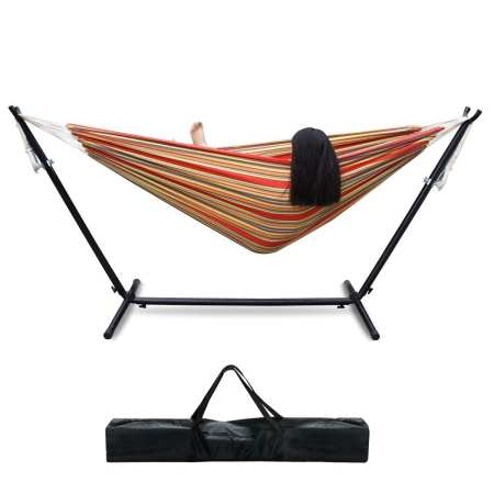 10.Top 10 Best Hammock with Space-Saving Steel Stand Review