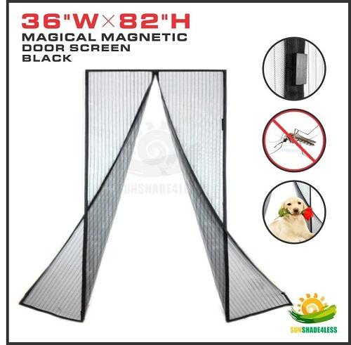 Windscreen4less Magnetic Screen Door
