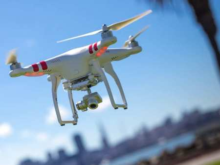 Keep your flying drone close by