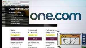 طريقة التسجيل في استضافة المواقع One.com 10
