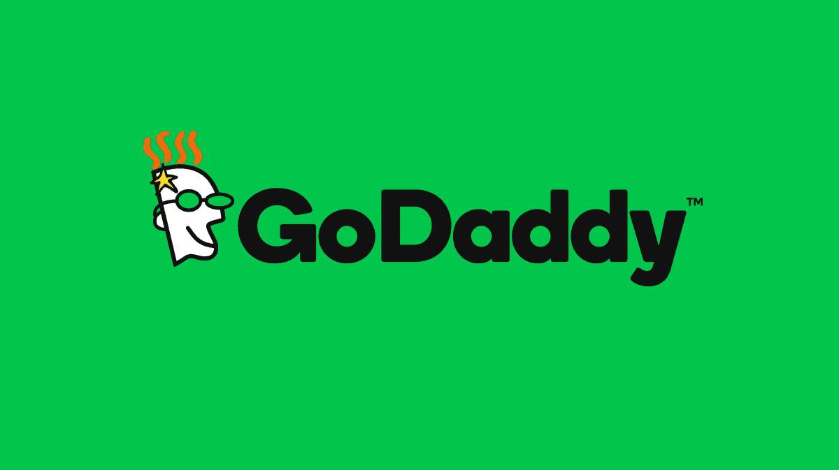 godaddy brand on green