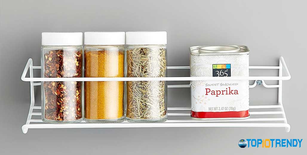 Build Spice Racks Inside Of The Cupboard