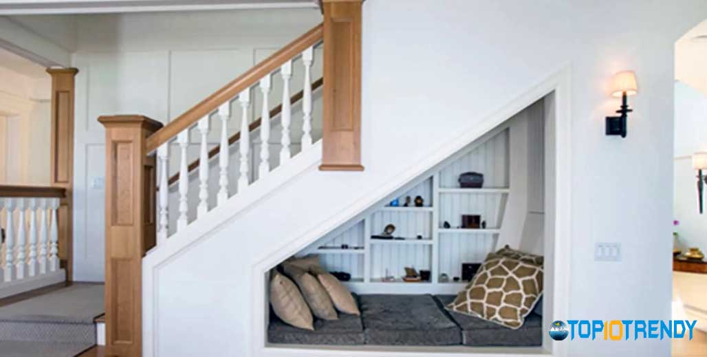 Make Use Of Space Under Stairs