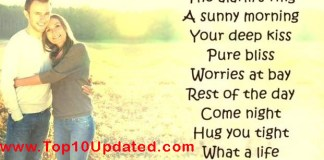 Husband Wife Romantic Love Quotes Sayings