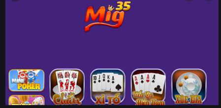 Mig35 Plus cong game bai slot quay hu