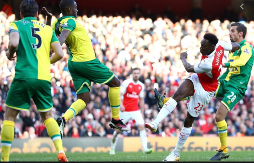 Norwich City vs Arsenal 4