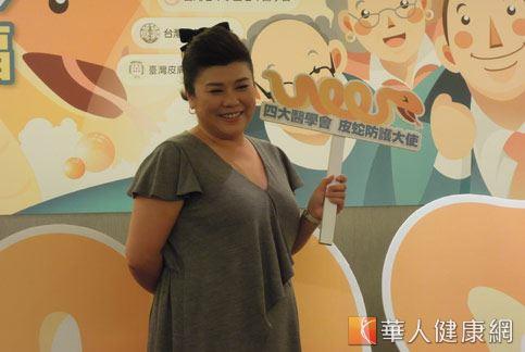 藝人林美秀的媽媽也曾經在生前罹患過皮蛇,如今想來令人心疼。