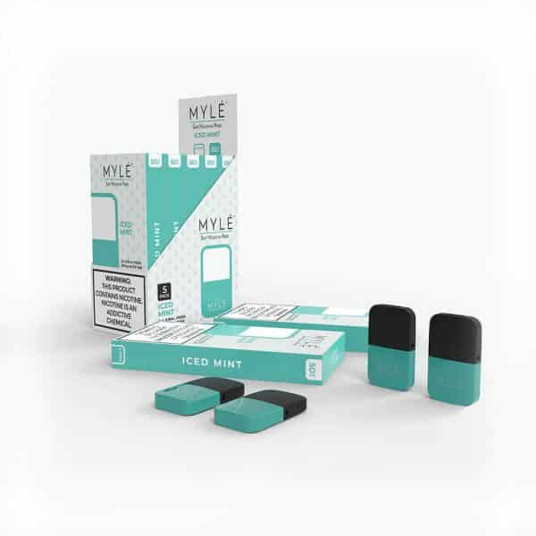 Iced Mint Vape Pods by MYLE