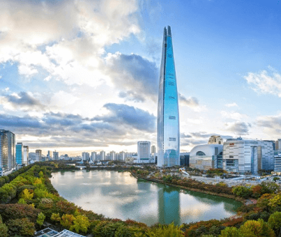 Lotte World Tower 5th tallest building in the world