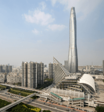Tianjin CTF Finance Centre worlds 8th tallest building