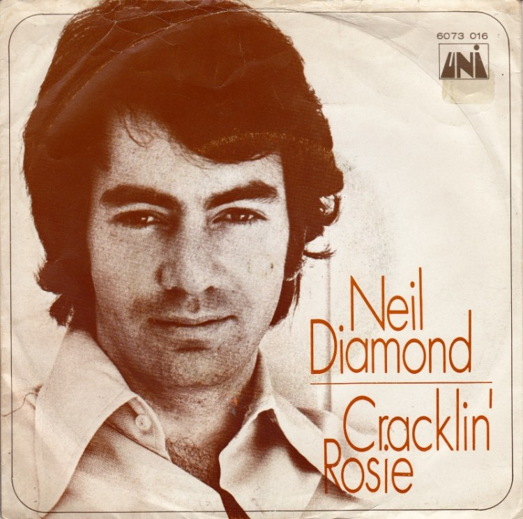 Neil Diamond - Cracklin Rosie record cover