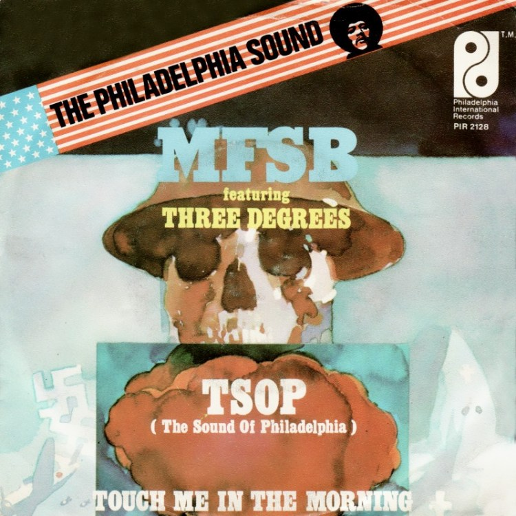 TSOP (The Sound Of Philadelphia) - MFSB Featuring the Three Degrees record cover