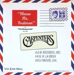 carpenters-please-mr-postman-am-2