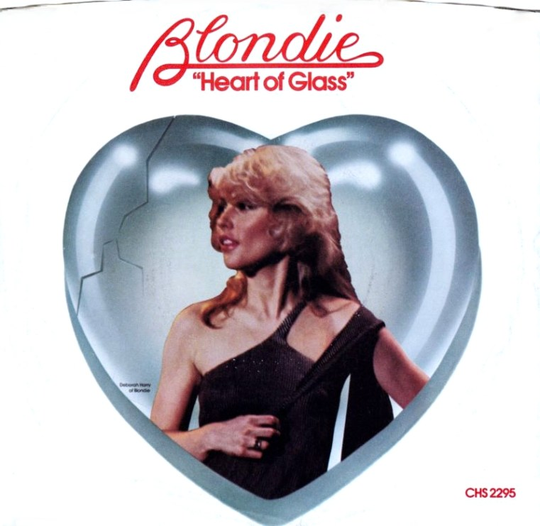 HEART OF GLASS - Blondie record cover