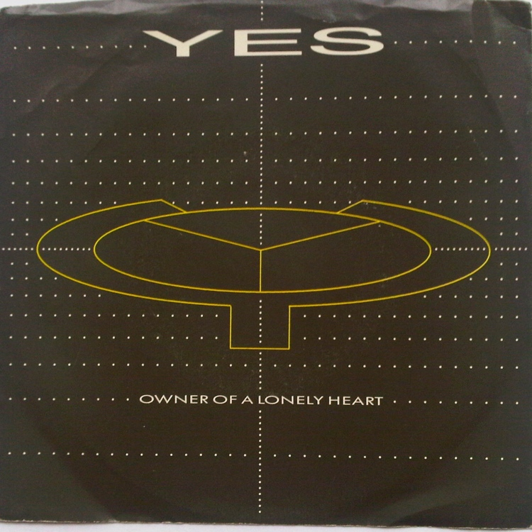 Yes Owner of a Lonely Heart record cover