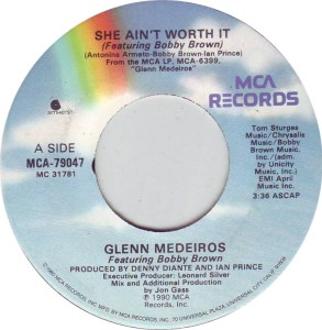 glenn-medeiros-featuring-bobby-brown-she-aint-worth-it-mca