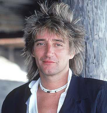 Rod Stewart promo image circa 1980's