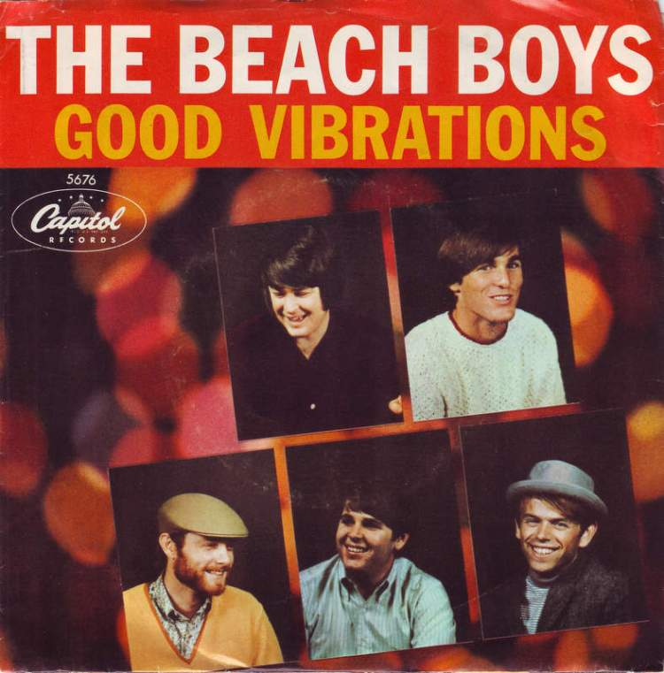 The Beach Boys - Good Vibrations record cover