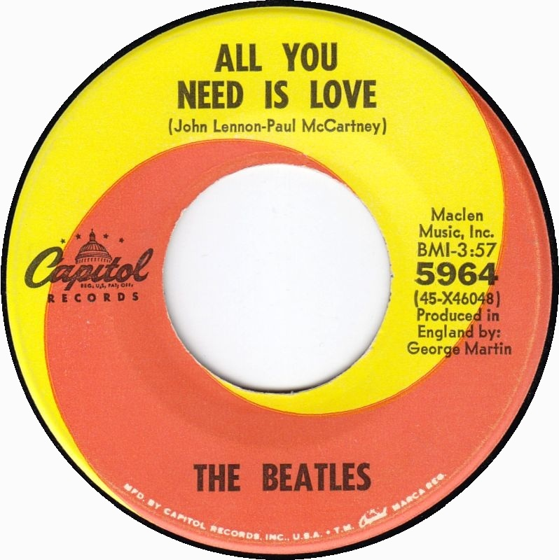 The Beatles All You Need Is Love 1967