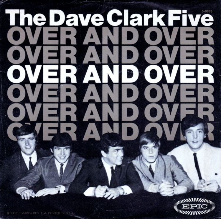 The Dave Clark Five - Over and Over record cover