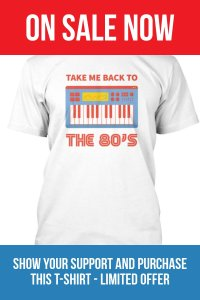 Take Me Back To The 80s T-Shirt