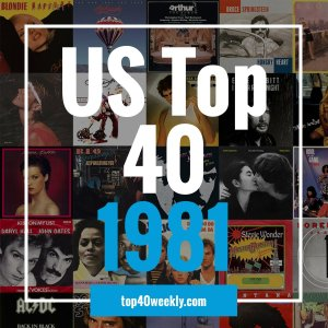 US Top 40 1981 Product Image Cover