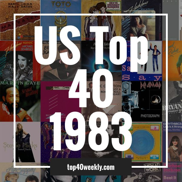 US Top 40 1983 Product Image Cover
