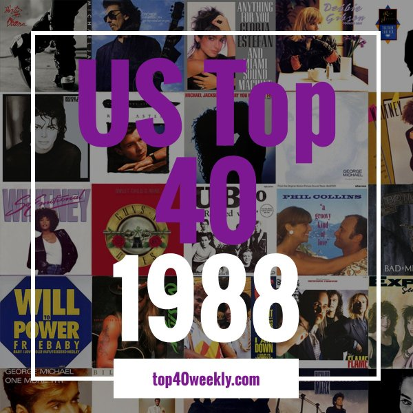 US Top 40 1988 Product Image Cover