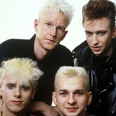 Depeche Mode band promo image circa 1985