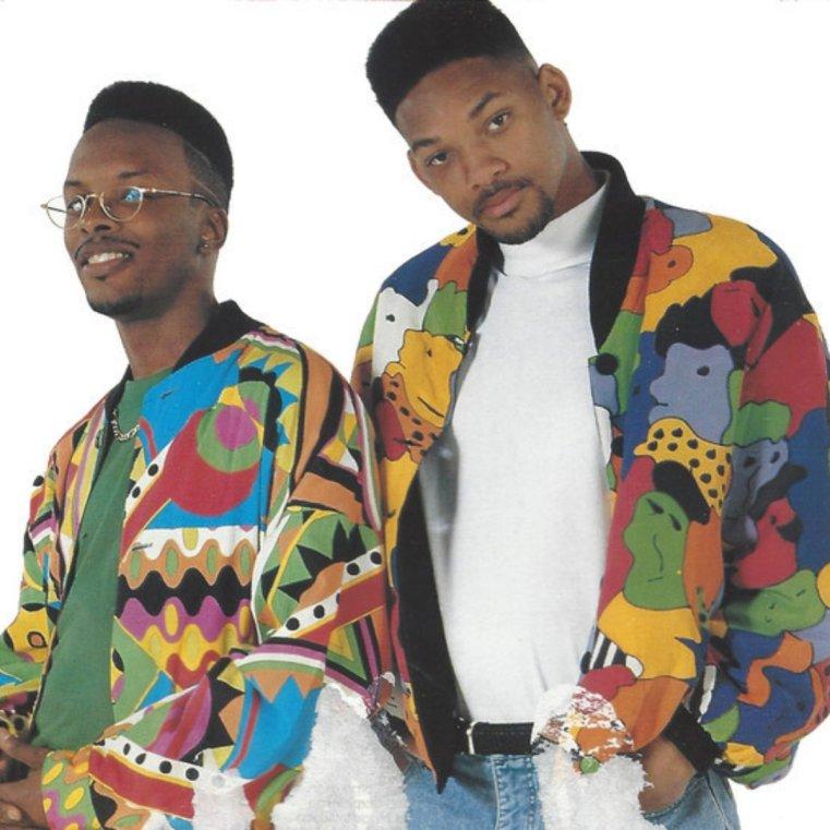 DJ Jazzy Jeff and The Fresh Prince promo image circa 1980's