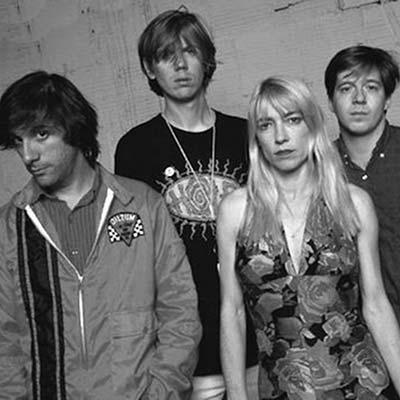 Sonic Youth band promo image circa 1980's