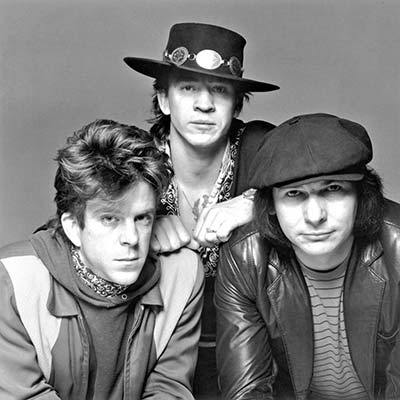 Stevie Ray Vaughan and The Double Trouble circa 1980's