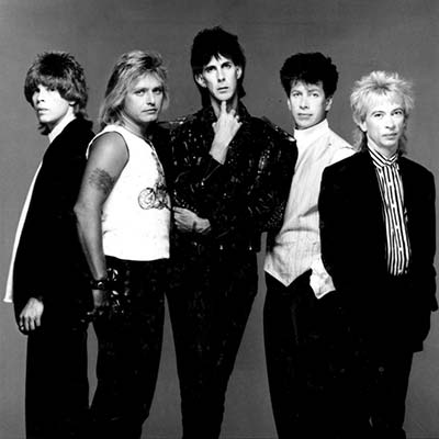 The Cars Band circa 1980's