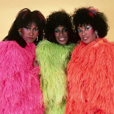 The Pointer Sisters promo image circa 1980's