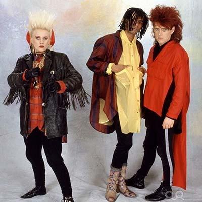 Thompson Twins band promo image circa 1980's