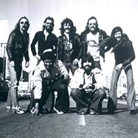 Doobie Brothers in Hilversum, Holland January 1974