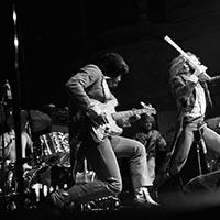 Jethro Tull performing in Hamburg, Germany 1973