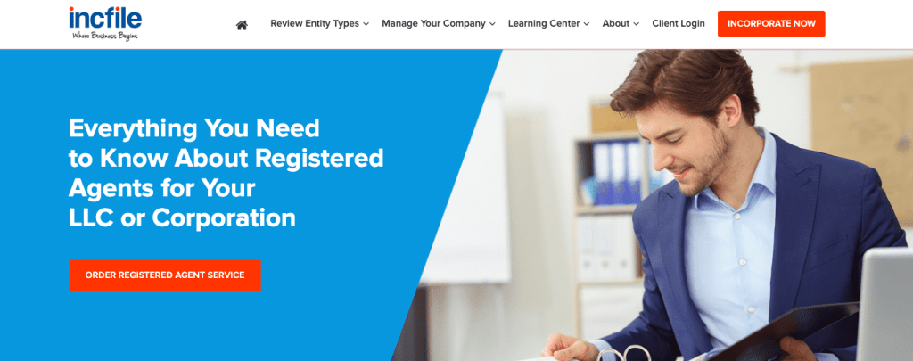 Incfile's Registered Agent Services