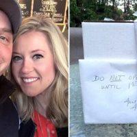 Преди 9 години те получиха сватбен подарък, на който пишеше не отваряй преди първият скандал! След като го отвориха останаха без думи!