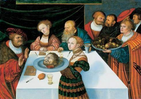 #5 Lucas Cranach Beheadings!