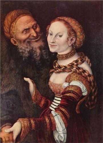 #2 Lucas Cranach Strange Couples!