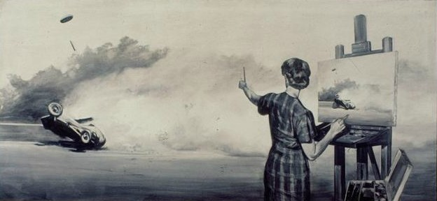 #5 Mark Tansey Grey Monochrome!