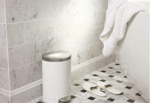 Best Small Bathroom Trash Can