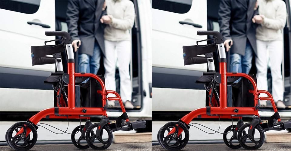 Best Rollator Transport Chair