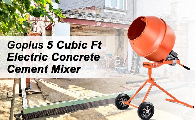 Best Portable Cement Mixer