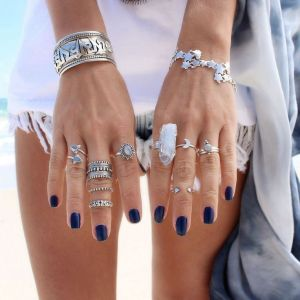 gypsy style dixi rings