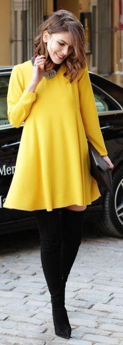 mom look yellow