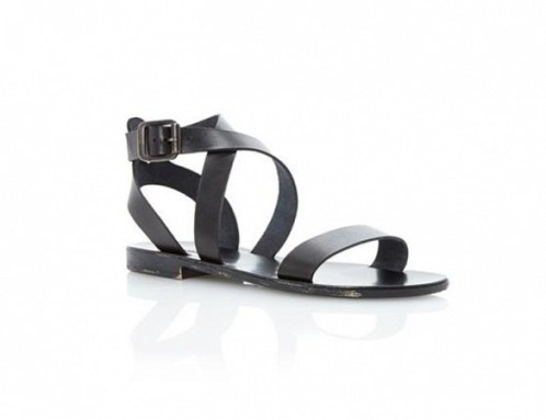 dune london lotti leather sandals 81$