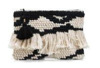 knit purse mango