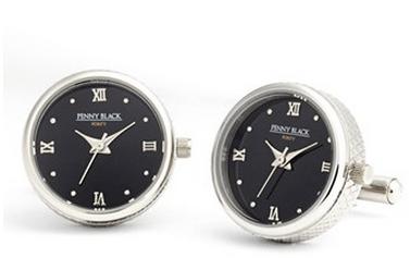 penny black functional watch cufflinks 150$